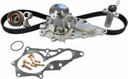 Gates Tckwp215 Engine Timing Belt Kit With Water Pump For 98-05 Gs300 Is300