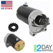 New Electric Starter For Briggs Stratton Cylinder Opposed Twin 13hp - 21hp Mower