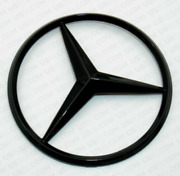 For Mercedes Coupe C253 Emblem Sticker Star Rear Boot Trunk Badge Glossy Black