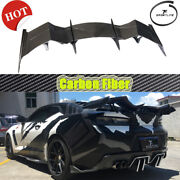 Rear Trunk Spoiler Wing For Chevrolet Camaro Coupe 16-19 Customized Real Carbon