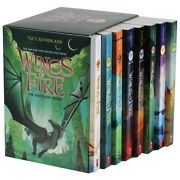 Wings Of Fire 8 Book Box Set By Tui T. Sutherland