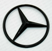 For Mercedes Coupe C257 Emblem Sticker Star Rear Boot Trunk Badge Glossy Black