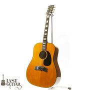 Gibson Heritage Natural 1976 Vintage Dreadnought Double X Bracing M1530