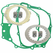 Clutch Friction Plates And Gasket Kit For Honda Atc200s 1984 1985 1986