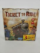 Ticket To Ride Cross Country Train Adventure Board Game Alan R. Moon New