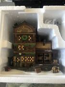 Dept 56 East Indies Trading Co 58302 2 Story Lighted Building Heritage Village