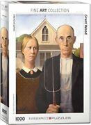 Eurographics - American Gothic By Grant Wood, 1000 Pc Puzzle