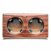 Avalon Boat 2-position Cup Holder Ad-437-088 | 10 1/4 X 5 3/4 Inch Woodgrain
