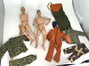 1964 Gi Joe Action Figures Hasbro Made In Canada Lot 2 Figures And Accessories
