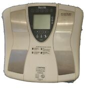 Tanita Innerscan Bc-550t Scale Body Composition Monitor Tested Working
