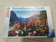 Ravensburger Puzzle 3000 Pieces Jigsaw Puzzle Flowery Mountains 48x32