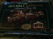 New Bright The Holiday Express Animated Train Set. G Scale Set 384