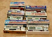 Lot Of 6 Hess Gas Station Vehicles-199219941997199820002003-van-semi-rescue