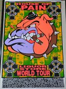 Frank Kozik House Of Pain Rare Signed 1993 Tour Poster Rage Against The Machine