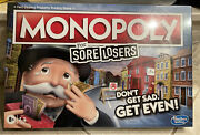Monopoly For Sore Losers Board Game New - Free Shipping