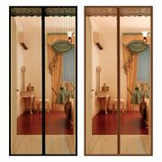 Large Size Anti-mosquito Curtain Door Net With Magnet Hands-free Magnetic