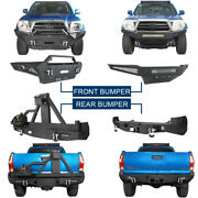 Front Or Rear Back Bumper Cover W/ D-rings For 2nd Gen Toyota Tacoma 2005-2015