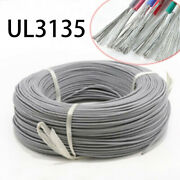 230awg Gray Silicone Cable Ul3135 Flexible Electronic Wire Tin Copper