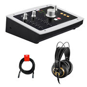 Audient Id22 Desktop 10x14 Usb Audio Interface W/ Akg Pro Headphone And Cable