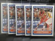 2007 Topps Mcdonaldandrsquos All-american James Harden 1st Rc Nets - 5-card Rookie Lot