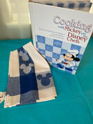 New Disney Store Cooking With Mickey And The Disney Chefs And Matching Dish Towel