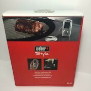 Weber Style 6438  Professional-grade Barbecue Beeper Digital Meat Thermometer