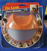 Rare Orange 3d Model K Or 11 Space Or Eyeball View-master Viewer 3d View Finder