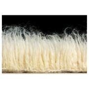 Linon 3a Flokati Hand Woven Wool 4and039x6and039 Rug In Natural
