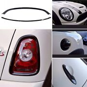 Mini Cooper Blackout Kit Front And Rear Light Covers Door Handle And Grill Cover