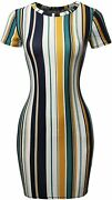 Womenand039s Casucal Printed Sexy Body-con Mini Dress - Made In Usa