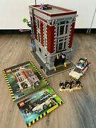 Lego 75827 Ghostbusters Firehouse Headquarters And 21108 Ghostbusters Ecto - 1