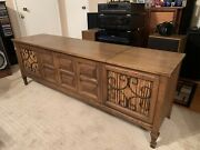 Vintage Fisher Regent Andldquo Stereo Console- Andrdquofisher Stereo Receiver- Near Mint