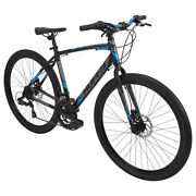 Huffy 27.5andrdquo Mens Bike Bicycle 14-speed Aluminum Oversized Gravel Tires Adults