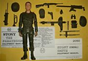 Stony Stonewall Smith Paratrooper Figure And 7 Accessories Johnny West Marx
