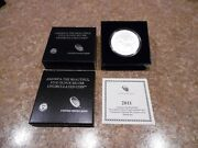 2011 P Chickasaw National Recreation Area 5 Oz. Silver Atb W Box And Coa