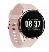 Itouch Sport Fitness Tracker Watch Smartwatch 43mm Rose Gold With Blush Band