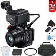 Canon Xc15 4k Professional Camcorder Bundle 1456c002 +1 Year Extended Warranty
