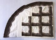 Vintage Wavy Pattern 1970s Vera Tablecloth And 8 Napkins Table Linens Dining Set