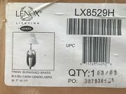 Lenox Electrical Quoizel Wall Sconce Brand New In Box S 17 Burnished Brass