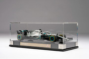 1/18th Scale Amalgam 2019 Mercedes-amg F1 W10 Eq Power+ Hamilton W/ Display Case