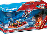 Playmobil City Action - Fire Rescue Mission 70335 For Kids 4 Years Old And Up