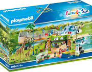 Playmobil Family Fun - Large City Zoo 70341 For Kids 4 Years Old And Up