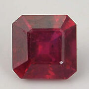 2.97 Carat Red Color Natural Octagon Ruby Loose Gemstone 1 Pieces -4695