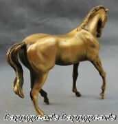 Old Victorian Antiques Excellent Bronze Fengshui Lucky Wealth Horse Statues