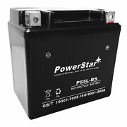 Powerstar 12v 4ah Sealed Lead Acid Motorcycle Battery Replaces Ytx5l-bs