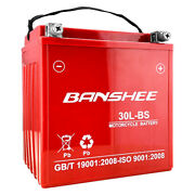 Harley Davidson Motorcycle Battery Replacement By Banshee W/ A 4 Year Warranty
