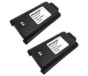2 Pcs Battery For Hyt Bl2001 Tc-610 Tc-610p Tc-620 Li-ion 7.5v 2000mah