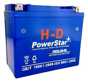 Agm Battery Fits Yamaha Grizzly 660 Yfm660f 4wd 2002-2008