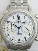 New Ball Trainmaster Cannonball Ii Chronograph Cm1052d Automatic Watch
