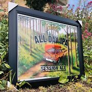 Founders All Day Ipa Beer Bar Mirror Man Cave Pub New Wagon